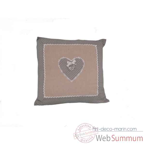 "Coussin collection ""eloise\"" 40 x 40 cms Antic Line -SEB13615"