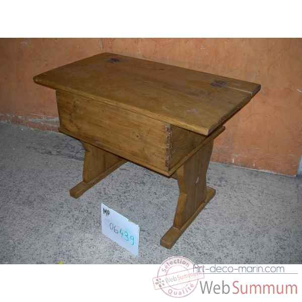 Table coffre Antic Line -MP06439