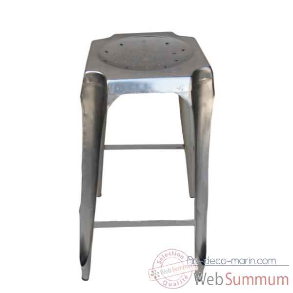 Tabouret de bar acier Antic Line -CD517