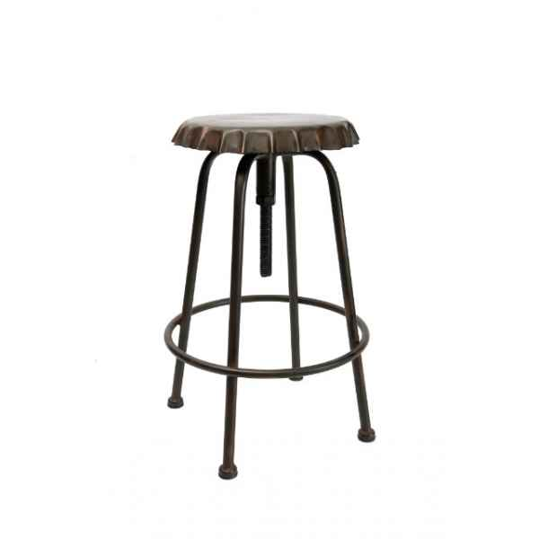 "Tabouret ""soda\"" capsule antique Antic Line -SEB11731"