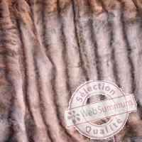 Couverture russian bear en fourrure synthehique 2500 x 2400 arteinmotion COP-RUS0011