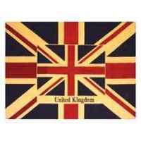 Couverture united kingdom en chenille 1900 x 1400 Arteinmotion COM-PLA0112
