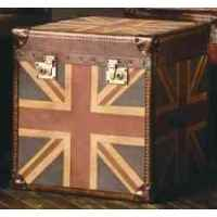 Malle star en tissu avec drapeau anglais h 600 x 600 x 600 arteinmotion bau s - Malle drapeau anglais ...