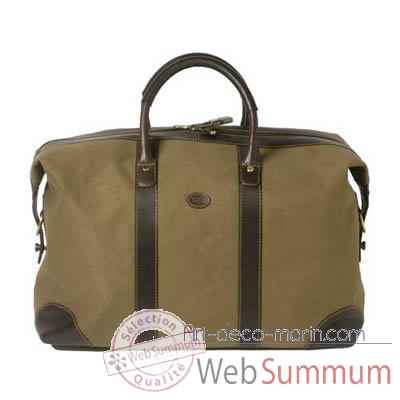 Sac week-end en Daim marron 4029-04