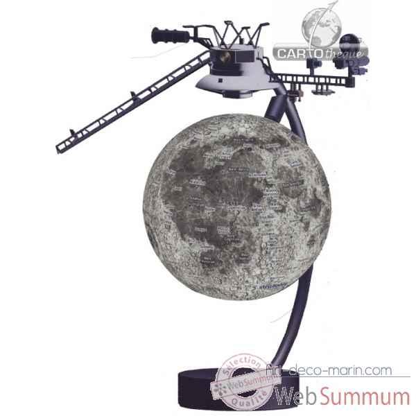 globe 15 cm magn tique flottant moon cartoth que egg dans. Black Bedroom Furniture Sets. Home Design Ideas