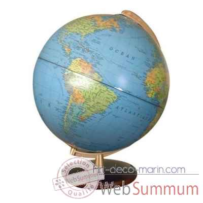 Globe 30 cm imperial plastique - noyer columbus -CO463052