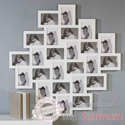 "Cadre photo ""collage"" Casablanca Design -71101"