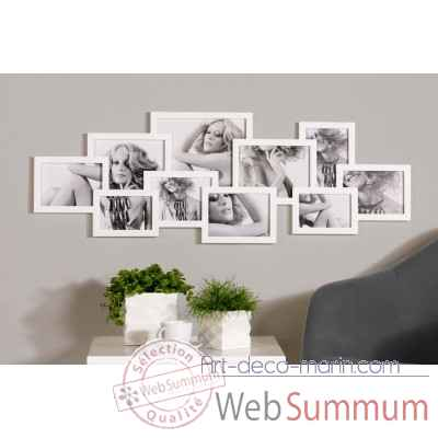 "Cadre photo ""composition\"" Casablanca Design -51632"