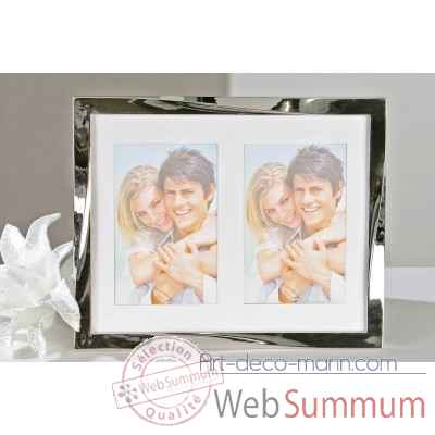 "Cadre photo ""twist"" Casablanca Design -40895"