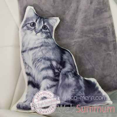 "Coussin ""chat"" Casablanca Design -28545"