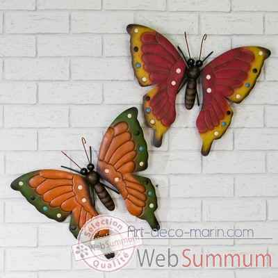 "Decoration mural ""schmetterling"" Casablanca Design -74193"