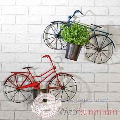 "Decoration murale ""bicyclette"" Casablanca Design -74328"