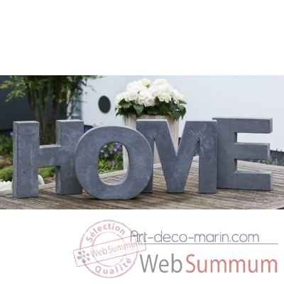 "Mot ecrit ""home"" Casablanca Design -36076"