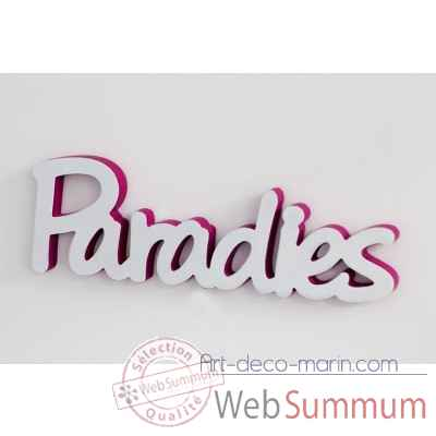 "Mot ""paradies"" Casablanca Design -71428"