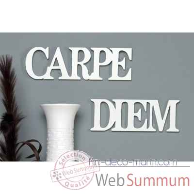 "Mots ecrits ""carpe diem"" Casablanca Design -51370"