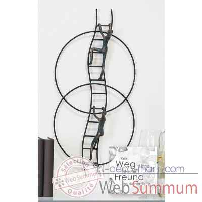 "Objet mour le mur ""upstairs"" Casablanca Design -79130"