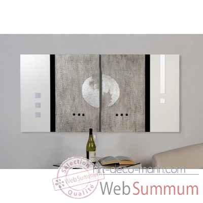 "Tableau ""moon"" Casablanca Design -71513"