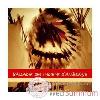 cd ballades des indiens d 39 am rique vox terrae 17109270 dans musique d 39 ambiance. Black Bedroom Furniture Sets. Home Design Ideas