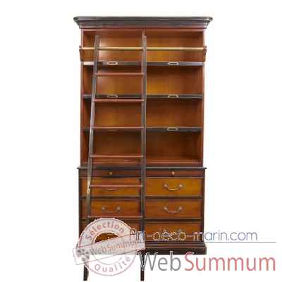 Bibliotheque cambridge Decoration Marine AMF -MF095