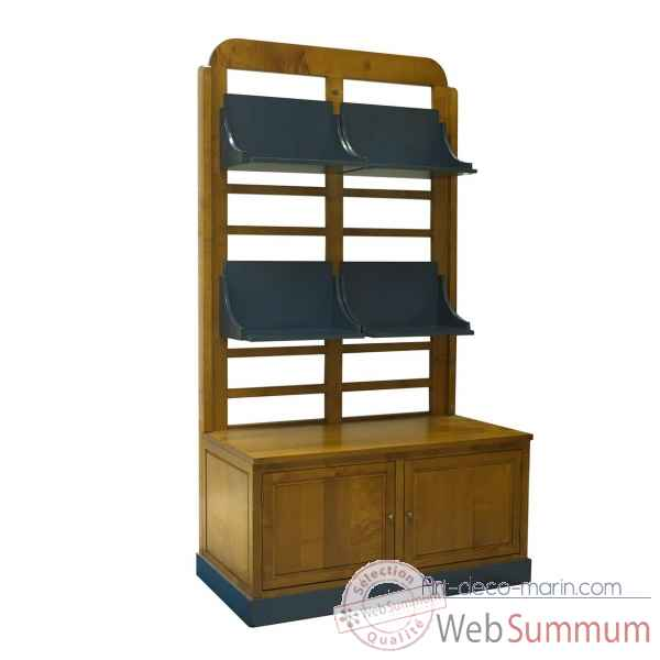 Bibliotheque a etageres Decoration Marine AMF -FT002