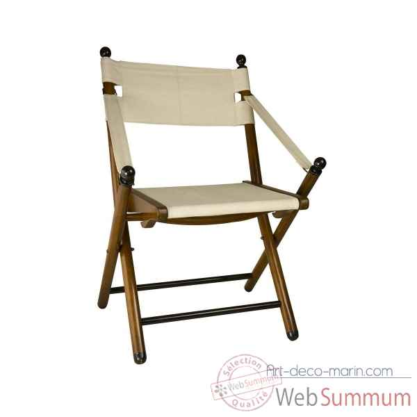 Chaise de campagne pliante Decoration Marine AMF -MF126