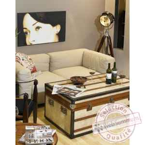 malle polo club petite d coration marine amf mf089 de. Black Bedroom Furniture Sets. Home Design Ideas