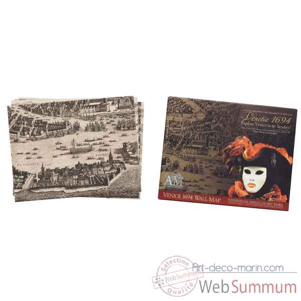 Portfolio venise 1694 Decoration Marine AMF -MC816