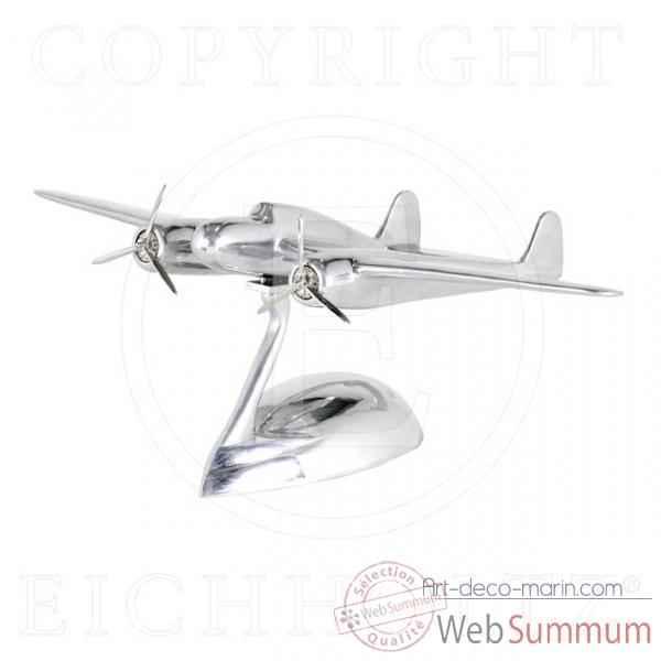 Eichholtz avion fokker dixieland aluminium  acc05156 de Décoration