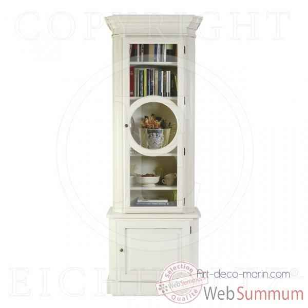 Eichholtz cabinet chambery right vieille finition blanc -cab03325