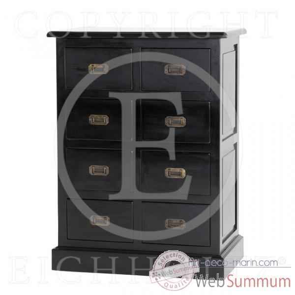 Eichholtz cabinet cd finition noir -cab03298