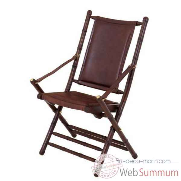 Chaise safari folding Eichholtz -04039