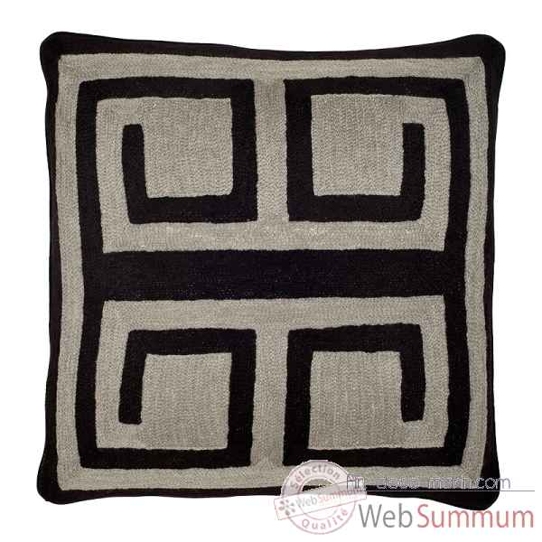 Coussin bliss black grey Eichholtz -08256