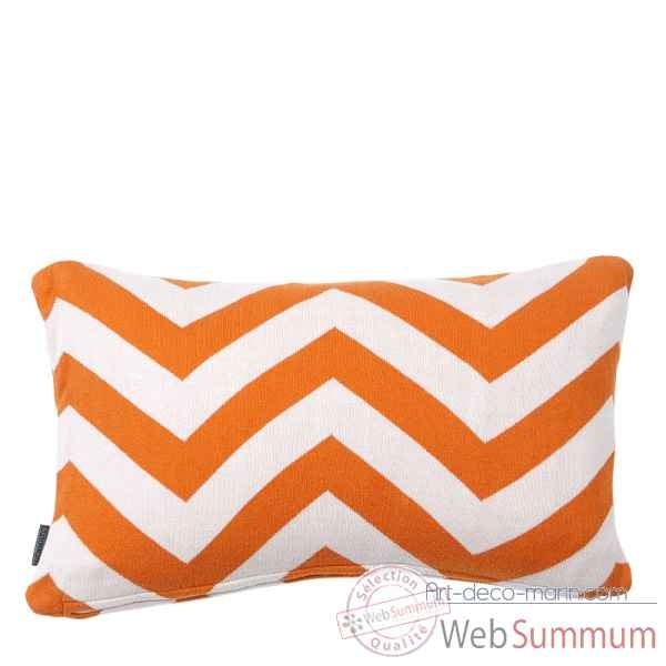 Coussin boman orange set de 2 Eichholtz -07997