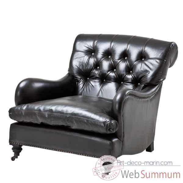 fauteuil caledonian eichholtz 07882 dans fauteuil tabouret chaise sur art d co marin. Black Bedroom Furniture Sets. Home Design Ideas