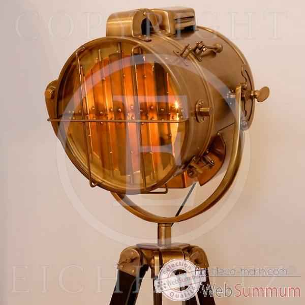 eichholtz lampe atlantic cuivre lig04424 dans luminaire marin sur art d co marin. Black Bedroom Furniture Sets. Home Design Ideas