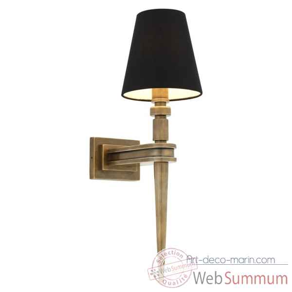 Lampe murale waterloo single eichholtz -110986