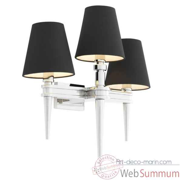Lampe murale waterloo triple eichholtz -110988