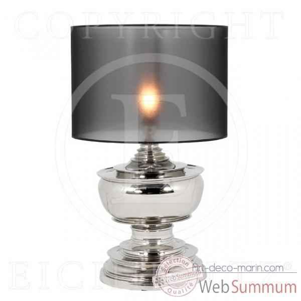 eichholtz lampe pagoda nickel lig04957 dans luminaire marin sur art d co marin. Black Bedroom Furniture Sets. Home Design Ideas