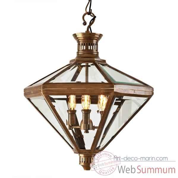 lanterne mistery eichholtz 08086 dans luminaire marin sur art d co marin. Black Bedroom Furniture Sets. Home Design Ideas