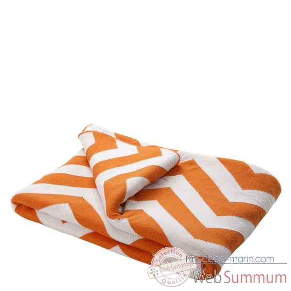 Plaid boman orange Eichholtz -07999
