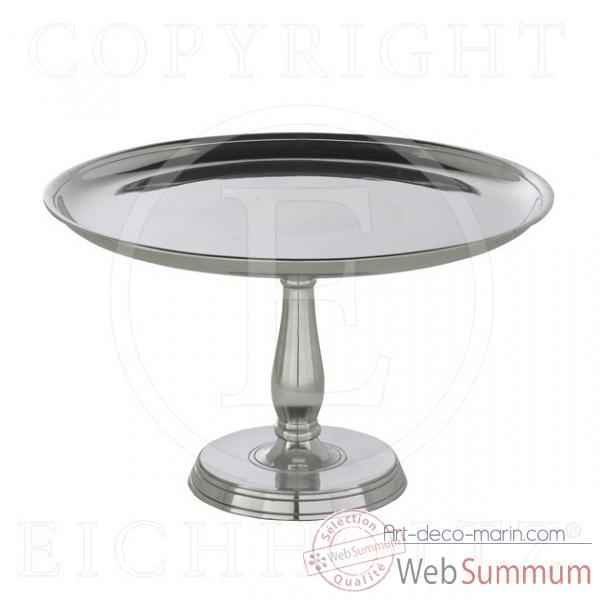 Eichholtz plat a gateau standard hugo grand nickel -acc03621