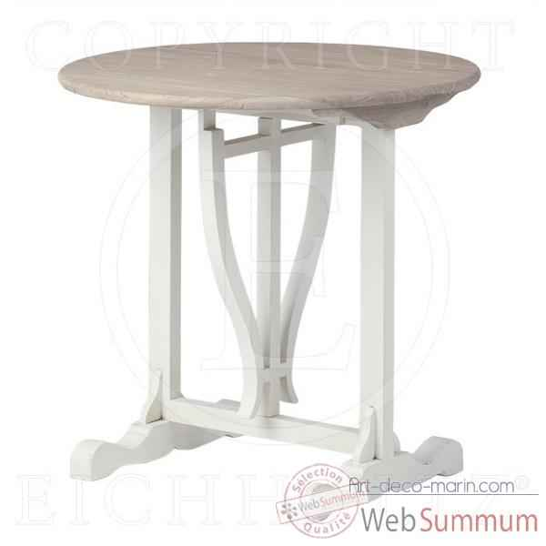 Eichholtz table belle rive bois -tbl06006