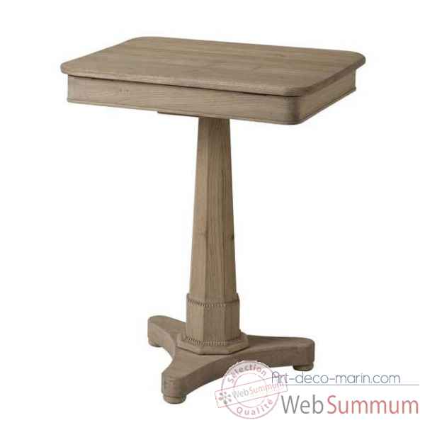 Eichholtz table connecticut chene rustique -tbl06448