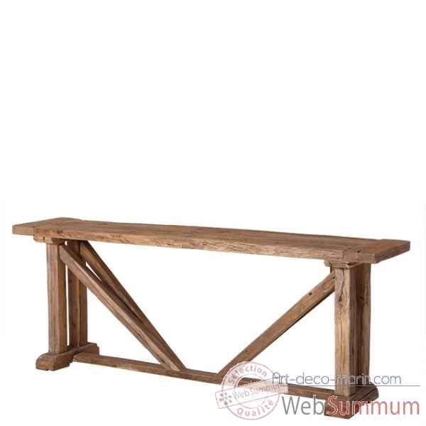 Table console particulier eichholtz dans table et tables for Table basse art deco occasion
