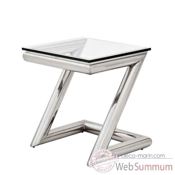 table de chevet en z. Black Bedroom Furniture Sets. Home Design Ideas