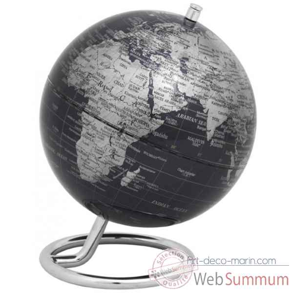 Mini globe galilei noir emform -se-0762