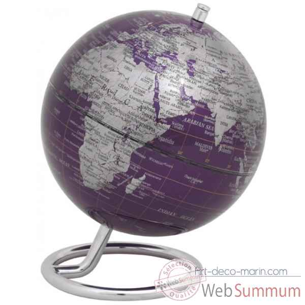 Mini globe galilei violet emform -se-0761