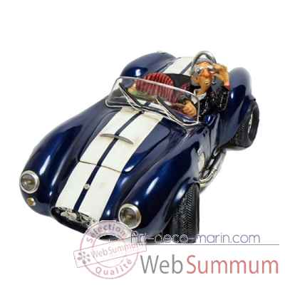 Figurine Voiture Shelby Cobra 427 Forchino - 32 cm 85071