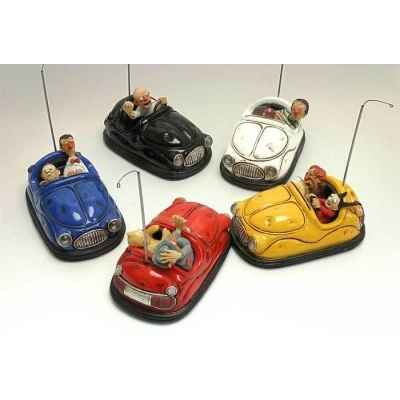 Figurine Auto-tamponneuses Bumper car set Forchino FO85043