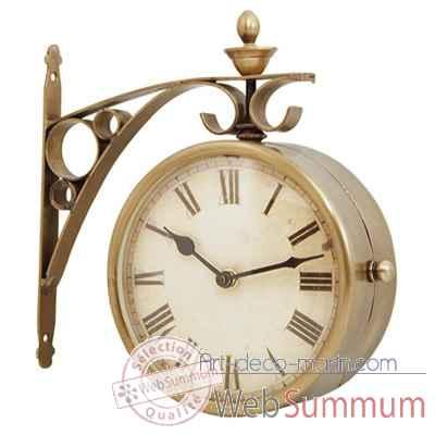 horloge de quai produits marins web summum web0605 de d coration marine. Black Bedroom Furniture Sets. Home Design Ideas